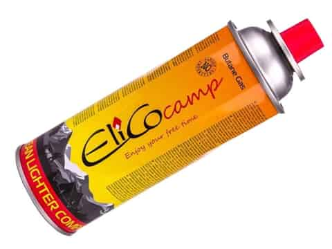 Gas for camping stove Cartridge Elico Camp 393ml at Wasserman.eu
