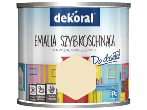Dekoral Akrylux paint Quick-drying enamel (0.5 l, As for the summer) at Wasserman.eu