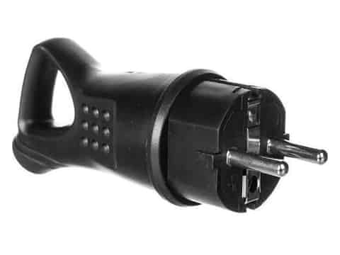 Rubber plug with handle 16A grounding OR-AE-1369 at Wasserman.eu