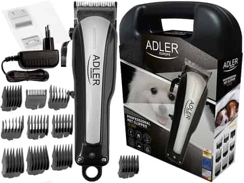 The cordless clipper for animals Adler AD 2828 at Wasserman.eu