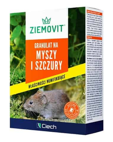 Poison for mice and rats. Ziemovit granules 140g at Wasserman.eu