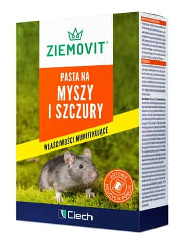 Poison for mice and rats. Ziemovit paste 100g at Wasserman.eu