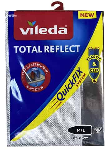 Vileda cover for Total Reflect board with a metal layer at Wasserman.eu