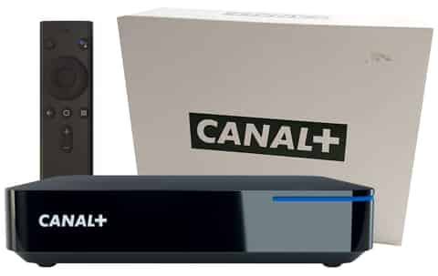 Canal + 4K without antenna 2m internet set-top box for free at Wasserman.eu