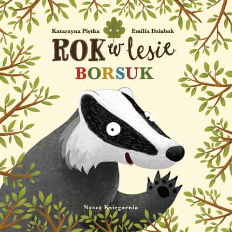 Book Year in the forest. Badger at Wasserman.eu