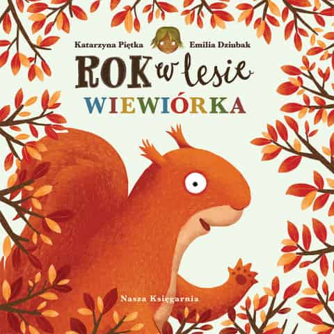 Book Year in the forest. Squirrel at Wasserman.eu