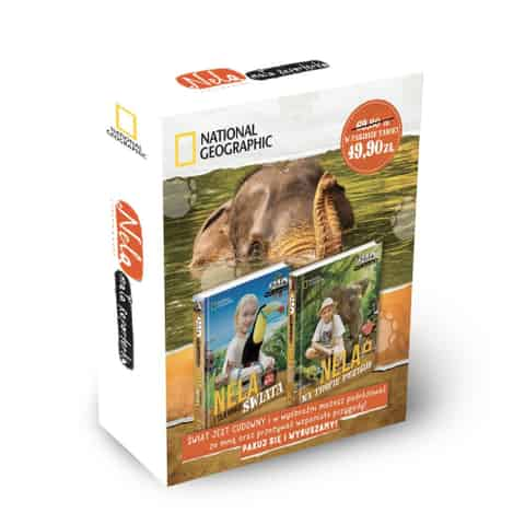 Book Package: Nela and the secrets of the world / Nela on the trail of adventures at Wasserman.eu