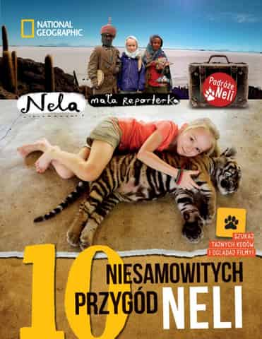 Book 10 amazing adventures of Nela. Second edition, supplemented with QR codes at Wasserman.eu