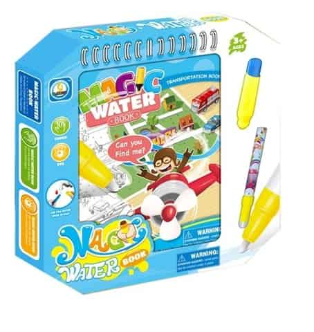 Booklet with water pen - Vehicles at Wasserman.eu