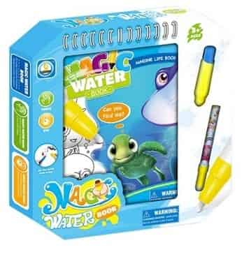 Booklet with water pen - Sea animals at Wasserman.eu