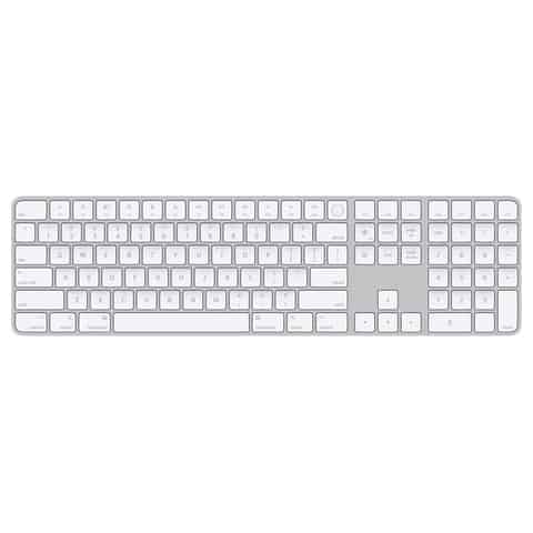 Magic Keyboard with Touch ID and numeric pad for Mac models with Apple layout - US English at Wasserman.eu