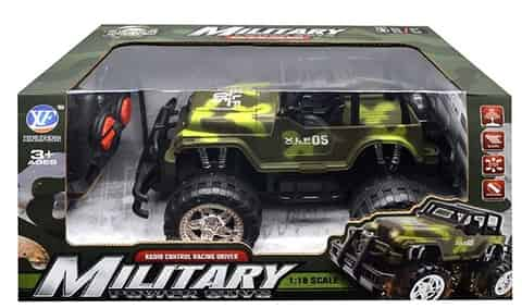 Car R/C Military Jeep with charger at Wasserman.eu