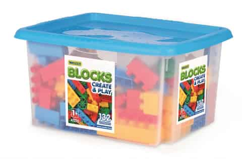 Blocks 132 pcs in the container at Wasserman.eu