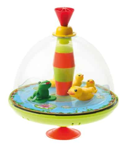 Lena Spinning top - Duck family with chip at Wasserman.eu