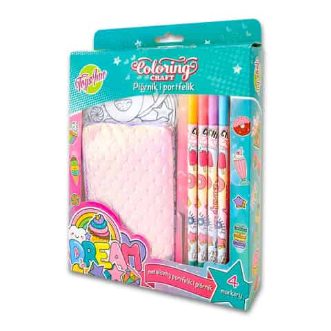 Pencil case and wallet Dream for coloring at Wasserman.eu