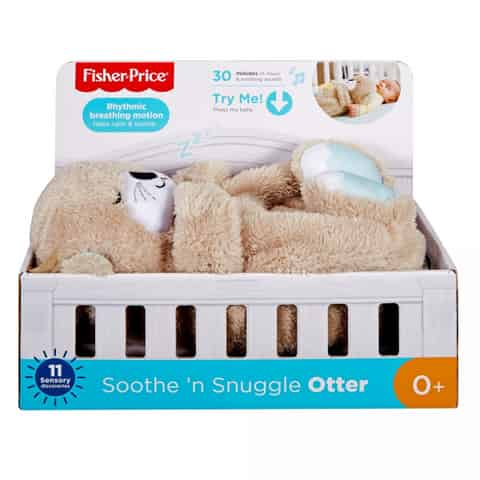 Cuddly toy Soothen Snuggle Otter at Wasserman.eu