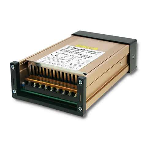 LED Switched-mode power supply   IP45   400W   12V   33A Waterproof at Wasserman.eu