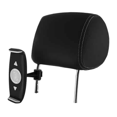 Car holder on the glass and the head restraint 7-15 inch tablet at Wasserman.eu