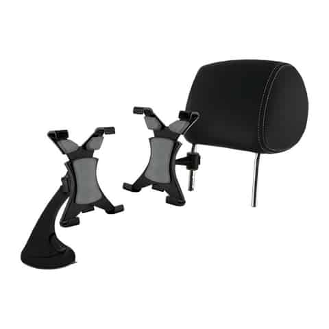 Car holder on the glass and the head restraint 7-10.1 inch tablet at Wasserman.eu