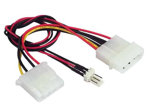CC-PSU-5 internal power adapter cable for the internal cooling fan at Wasserman.eu