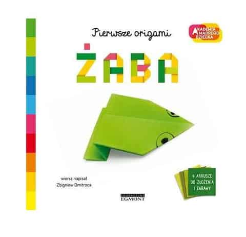 Book Academy of the Wise Child. First origami. Frog at Wasserman.eu