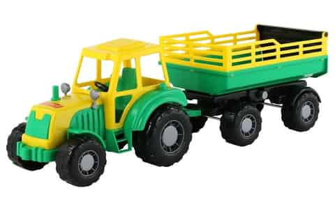 Altay Tractor with trailer at Wasserman.eu