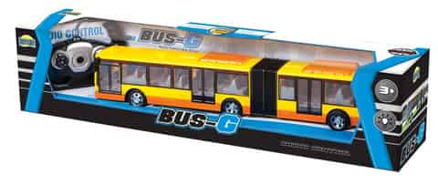 Articulated bus RC with package at Wasserman.eu
