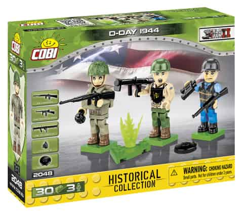 Blocks Historical Collection WWII D-Day 1944 at Wasserman.eu