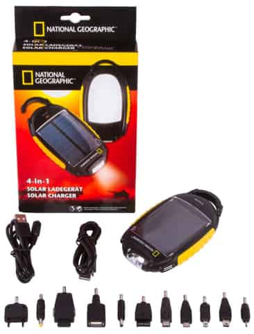 Bresser National Geographic Solar Power Charger at Wasserman.eu