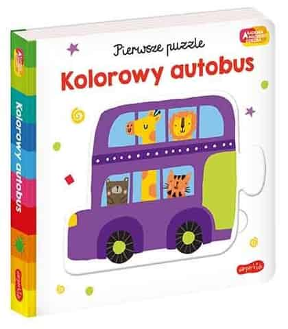 Booklet Smart child academy. First puzzle. Colorful bus. at Wasserman.eu