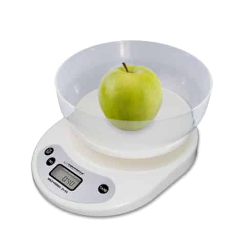 KITCHEN SCALE WITH BOWL COCONUT at Wasserman.eu