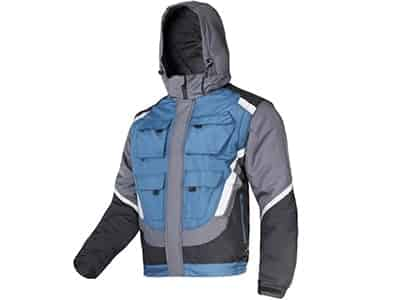 2-in-1 winter jacket with removable sleeves, hood Lahti Pro L40924 M at Wasserman.eu